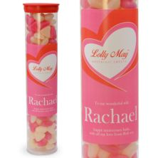 Love Lolly May Personalised Jelly Bean Hearts