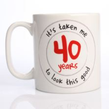 Looking Good Personalised Birthday Mug
