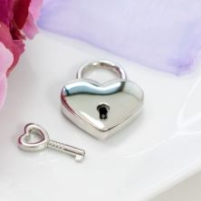 Personalised Heart Love Lock