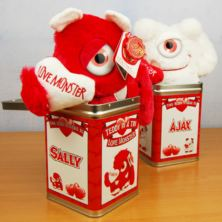 Teddy Tins - Personalised Love Monster