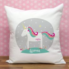 Personalised Magical Unicorn Cushion