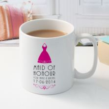 Personalised Maid of Honour Mug
