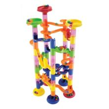 Marbureka Marble Runs (Extended - 74 Pieces)
