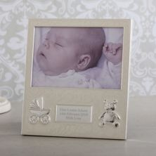 Personalised Baby Frame - Pearl Finish