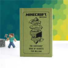 Personalised Minecraft Book: The Survivor's Book of Secrets