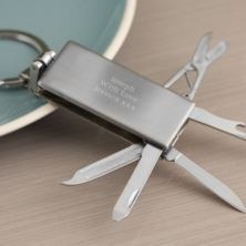 Mini Tool Set With Keyring