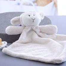Personalised Embroidered Lamb Snuggy