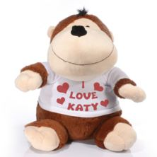 Extra Large Personalised Monkey Soft Toy