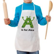 Personalised Children's Alphabet Monster Apron