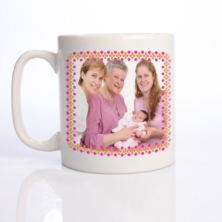 Personalised Mother's Day Photo Mug
