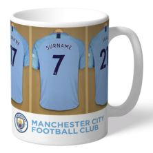 Personalised Manchester City Dressing Room Mug