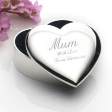 Mother's Day Heart Trinket Box