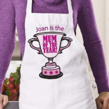 Mum of the Year Personalised Apron