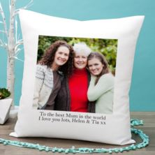 Personalised Photo Cushion for Mum