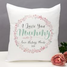 Personalised I Love You Mummy Cushion