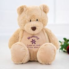 Personalised Embroidered Mummy Teddy Bear