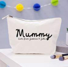 Personalised Mummy Wash Bag