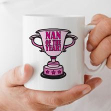Nan of the Year Award Personalised Mug