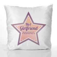 Best Girlfriend Personalised Cushion