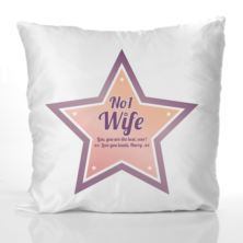 Best Wife Personalised Cushion