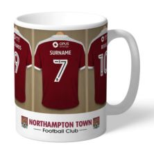 Personalised Northampton Town FC Dressing Room Mug