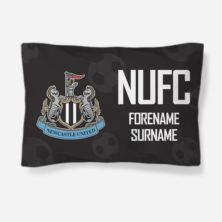Personalised Newcastle United FC Crest Pillowcase