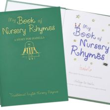 Personalised Hardback Classic Childrens Book - Nursery Rhymes