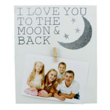 I Love You To The Moon & Back Photo Frame