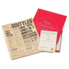 35th (Coral) Anniversary - Gift Boxed Original Newspaper
