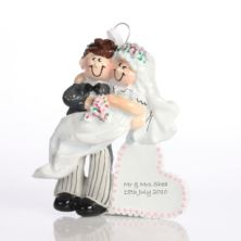 Personalised Wedding Ornament