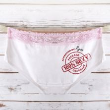 Personalised Package Approved Ladies Hipster Briefs