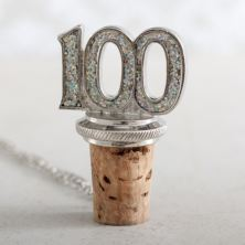 Age 100 Bottle Stopper