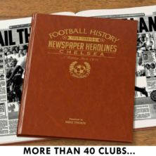 Personalised Football Book