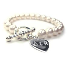 Personalised Forever Pearl Bracelet for the Bride