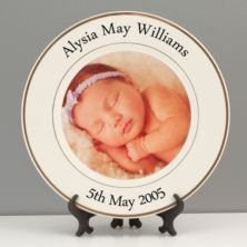 Personalised Photo Plate