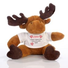 Valentine's Day Message Moose