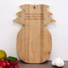 Personalised Pineapple Shaped Chopping Board