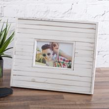 Playa 4 x 6 White Wood Photo Frame