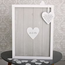 Provence Wedding Heart Message Drop Box