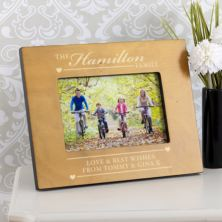 Personalised Wooden Family Photo Frame