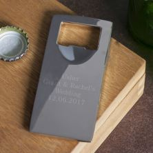 Top Off Engraved Bottle Opener