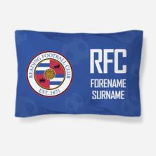 Personalised Reading FC Crest Pillowcase