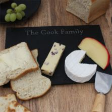 Personalised Slate Cheeseboard Or Serving Board