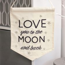 Love You To The Moon and Back Banner