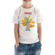 Personalised Robot Children's T-Shirt