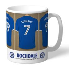 Personalised Rochdale AFC Dressing Room Mug