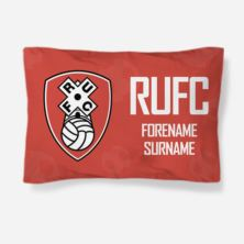 Personalised Rotherham United FC Crest Pillowcase