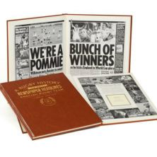 Personalised - 100 Year English Rugby History Book