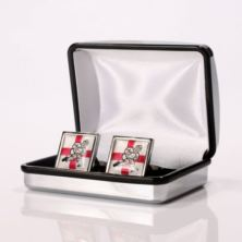 Personalised George Cross Rugby Player Cufflinks