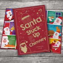 When Santa Got Stuck Up The Chimney - Classic Hardcover